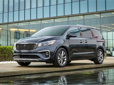 Fresh-faced 2019 Sedona Makes Appearance at the New York International Auto Show