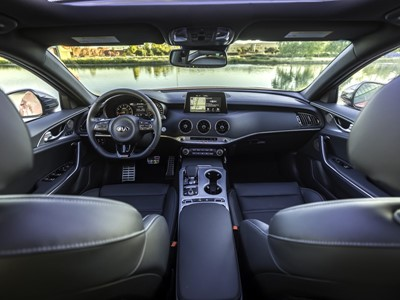 Kia Stinger GT Named to Wards 10 Best Interiors for 2018 List