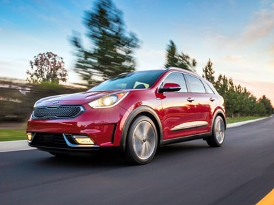 2018 Kia Niro Earns Top Safety Pick Plus Rating From  Insurance Institute for Highway Safety