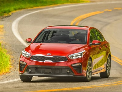 2019 Forte named Best Small Car by MotorWeek