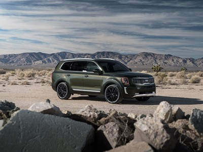 All-new Kia Telluride wins SUV category at inaugural Texas Off-Road Invitational