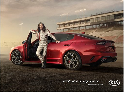 Steven Tyler hits the racetrack in Kia s Super Bowl ad for the all new