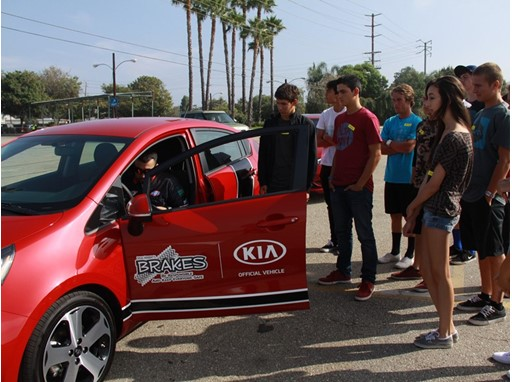 Kia Motors America and B.R.A.K.E.S. Ten Pro-Active Driving School