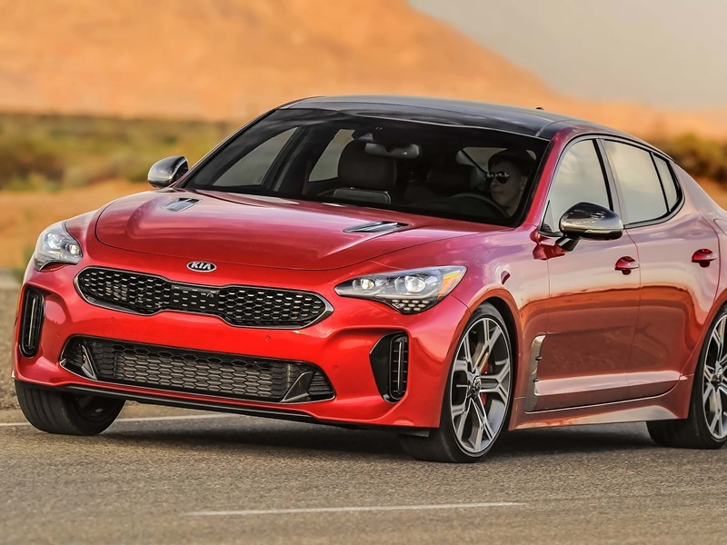 Kia Stinger Named Finalist for <b>2018 North American Car of the Year</b> ...