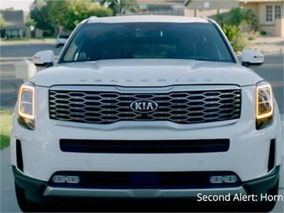 Video Demonstrating Kia Rear Occupant Alert System - B Roll