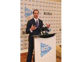 Drew Brees, Super Service Challenge Press Conference 1.30.15