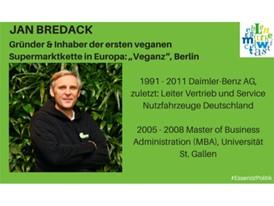 """Jan Bredack, Gründer und Inhaber der ersten veganen Supermarktkette in Europa: """"Veganz"""", Berlin"""