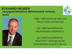 Eckhard Heuser, Hauptgeschäftsführer Milchindustrie-Verband, Berlin