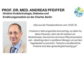 Zitat: Prof. Dr. med. Andreas Pfeiffer