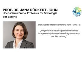 Zitat: Prof. Dr. Jana Rückert-John