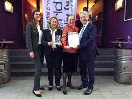 Die Preisträger mit dem Silber Award vom WorldMediaFestival