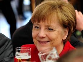 Bundeskanzlerin Angela Merkel bei der Feier zu 500 Jahre Reinheitsgebot in Berlin
