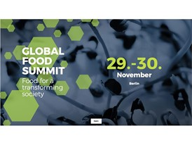 Global Food Summit in Berlin, November 2017