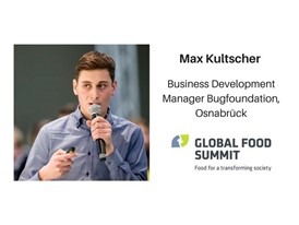 Max Kultscher, Business Development Manager Bugfoundation, Osnabrück