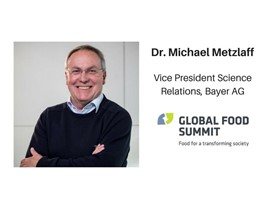 Dr. Michael Metzlaff, Vice President Science Relations, Bayer AG