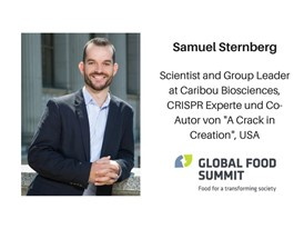 Samuel Sternberg, Scientist and Group Leader at Caribou Biosciences, USA