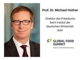 Prof. Dr. Michael Hüther, Direktor des Präsidiums beim Institut der deutschen Wirtschaft, Köln