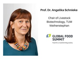 Prof. Dr. Angelika Schnieke, Chair of Livestock Biotechnology, TUM Weihenstephan
