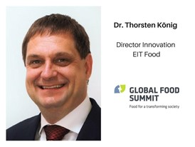Dr. Thorsten Koenig, Director Innovation EIT Food