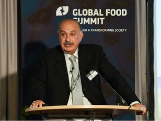 Dr. Mahmoud El-Solh, Former Director General, ICARDA, at Global Food Summit 2017 in Berlin