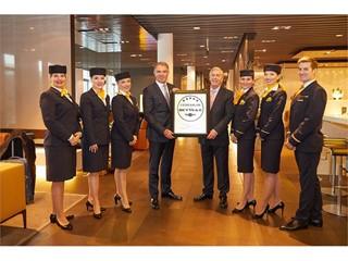 Ausgezeichnet speisen in 10.000 Metern Höhe - an Bord der Lufthansa