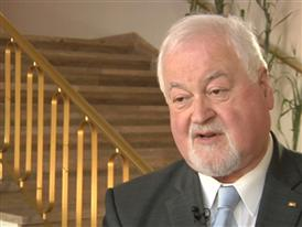 Interview with former Prime Minister of Schleswig-Holstein, Harry Peter Carstensen