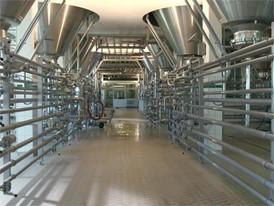 Modern brewery in Bavaria, close to Munich