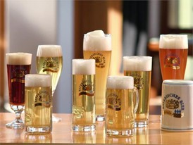Beauty shots, diversity Bayerisches Bier