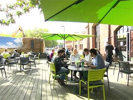 Footage Café im Wasserturm, Euref-Campus