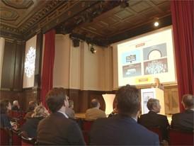 """Footage Symposium """"Das sollst du essen! Orientierung versus Bevormundung"""" im Meistersaal, Berlin"""
