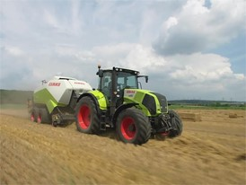 CLAAS QUADRANT 3300 emotional clip