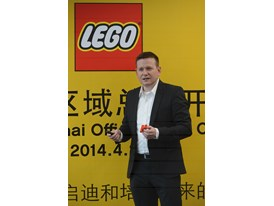 LEGO Senior Designer Ricco Krog gave a presentation about product development