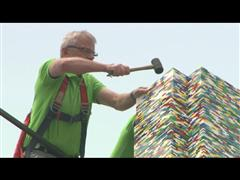 World Record for the Tallest LEGO® Tower Celebrating LEGO Group's 80th Birthday