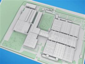 Video of 3D model of factory