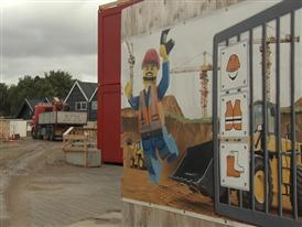 LEGO House - Construction site