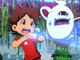 Footage of YO-KAI WATCH series