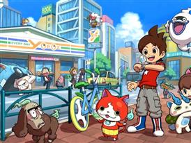 Still images of YO-KAI WATCH
