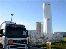 LNG Truck UK (Manchester)