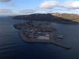 Linde LNG Plant Hammerfest in Norway