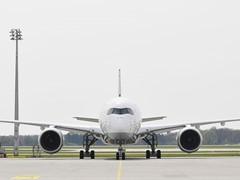 Lufthansa A350-900: Ni hao Hongkong!