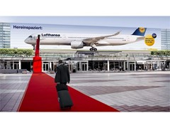 Lufthansa A350 rolls out the red carpet