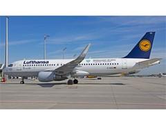 Lufthansa Airbus flies birthday greetings throughout Europe