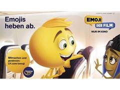 """Lufthansa startet Kampagne zu """"Emoji-Der Film"""""""