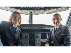 Lufthansa Group Pilotinnen heben ab