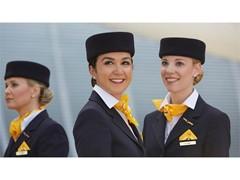 Lufthansa Flugbegleiter-Castings in Innsbruck