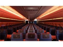 Lufthansa A350-900: Weltneuheit in innovativer Lichttechnik