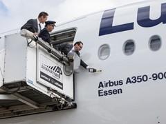 """Lufthansa Airbus A350-900 heißt jetzt """"Essen"""""""
