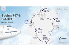 The new Lufthansa design goes on tour