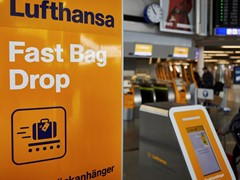 Lufthansa introduces new Fast Bag Drop