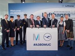 Lufthansa schickt größtes Passagierflugzeug der Welt vom Münchner Airport zu drei Zielen